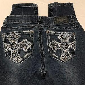 Zco skinny jeans size 1